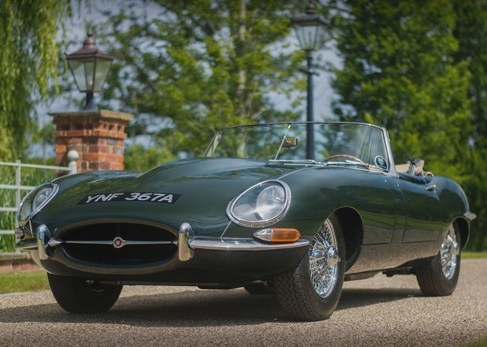 Lot 168 - 1963 Jaguar E-Type Series I Roadster (3.8 litre)