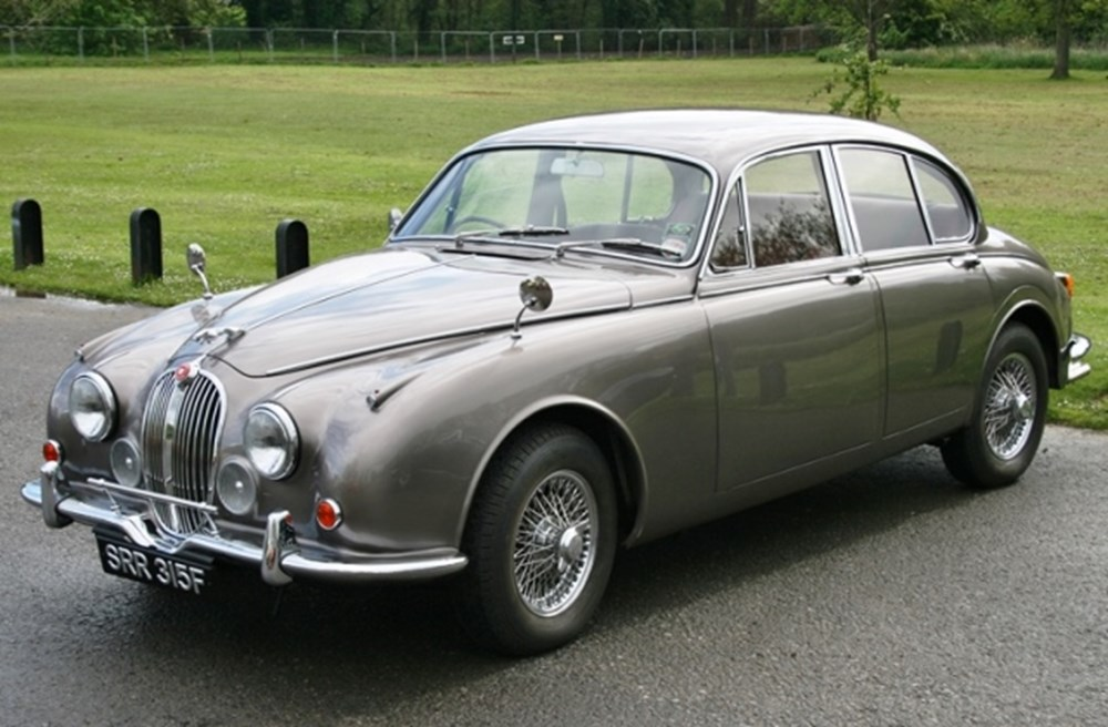 Lot 214 - 1968 Jaguar 340 Saloon