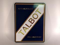 Navigate to Talbot wall plaque