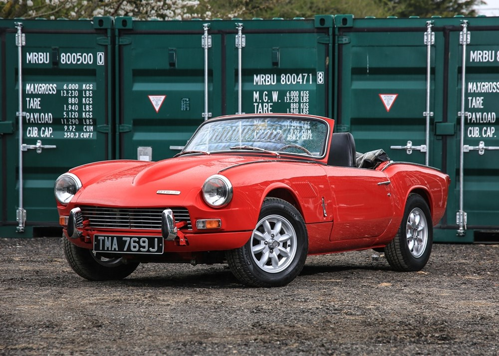 Lot 168 - 1970 Triumph GT6 Mk. II Convertible
