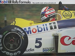 Navigate to Mansell in a Williams