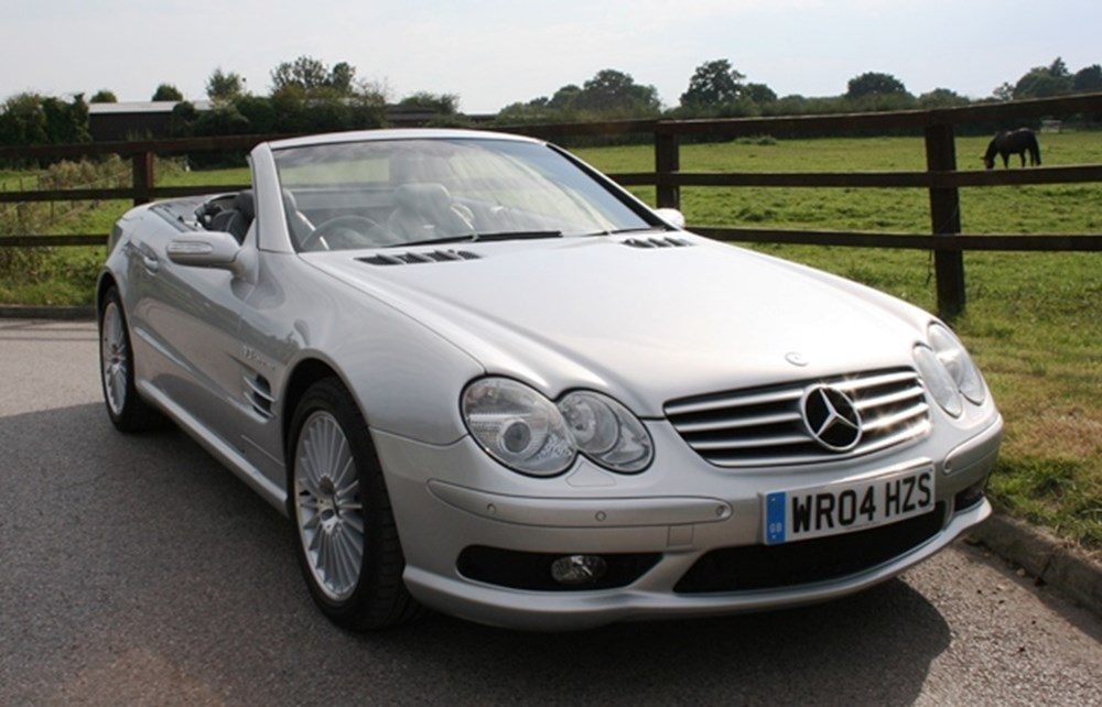 Lot 161 - 2004  Mercedes-Benz SL 55 AMG