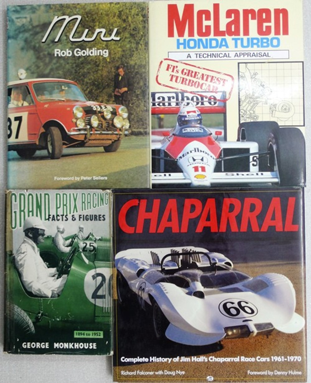 Lot 2 - 12 motoring books