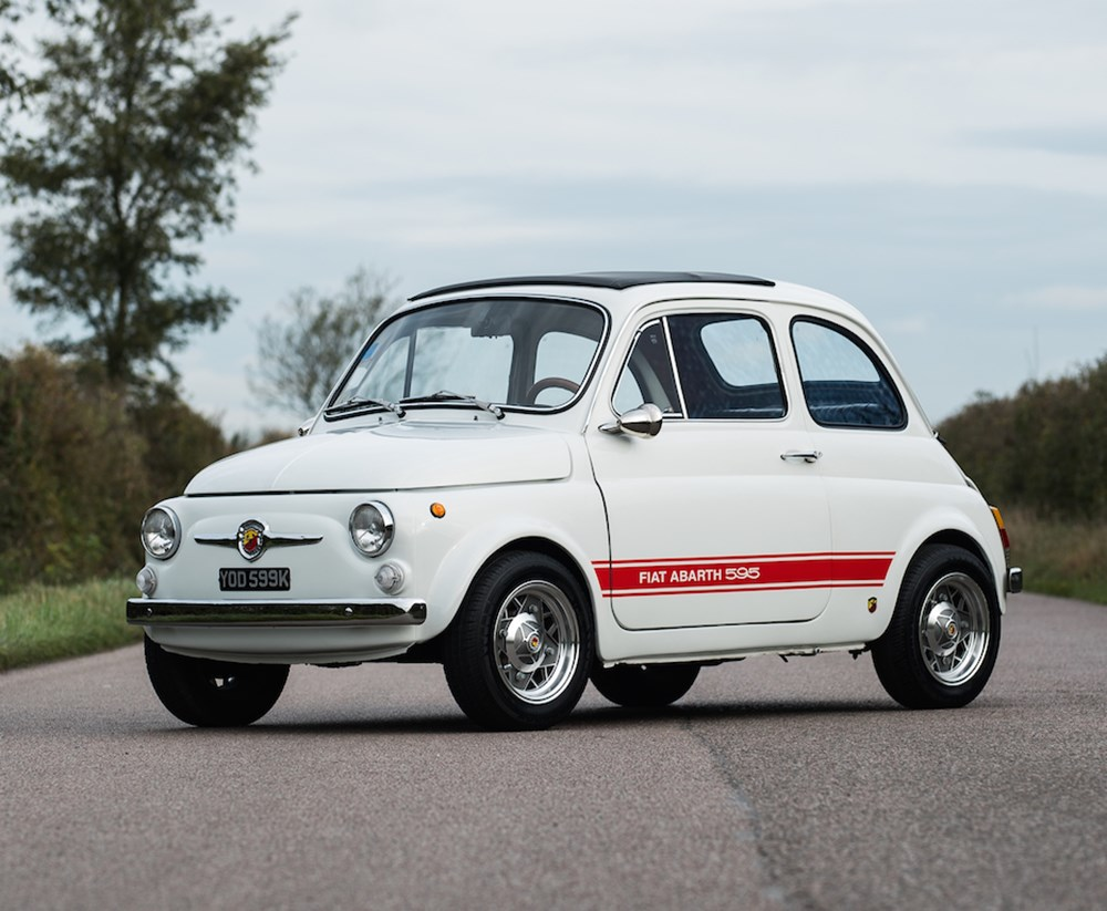 Ref 52 1972 Fiat Abarth 595 EsseEsse Recreation