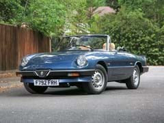 Navigate to Lot 105 - 1989 Alfa Romeo Spider