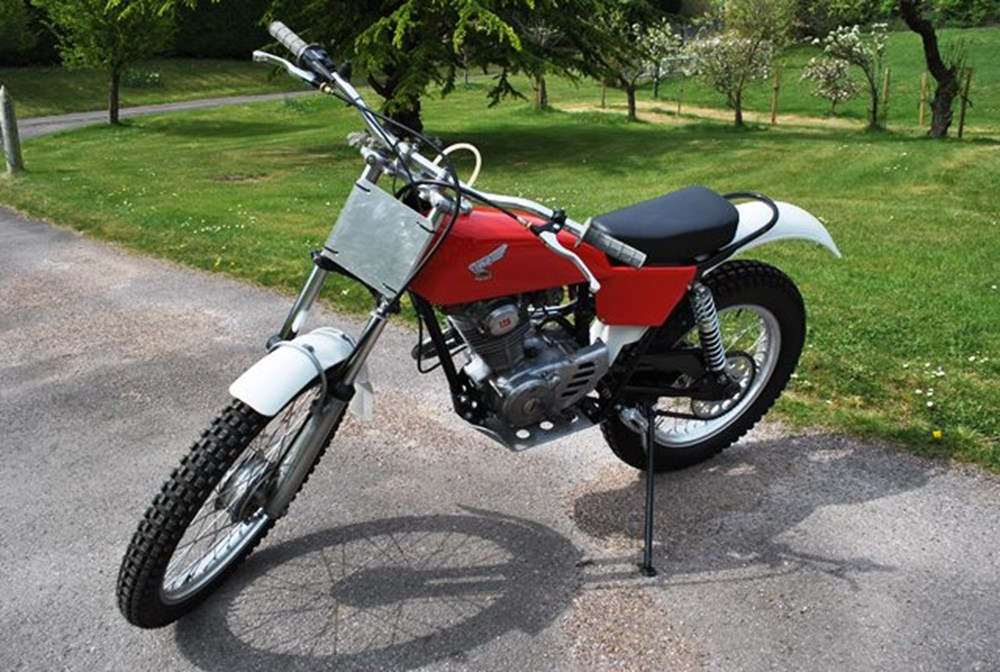 Lot 388 - 1977 Honda Trials TL 125 S
