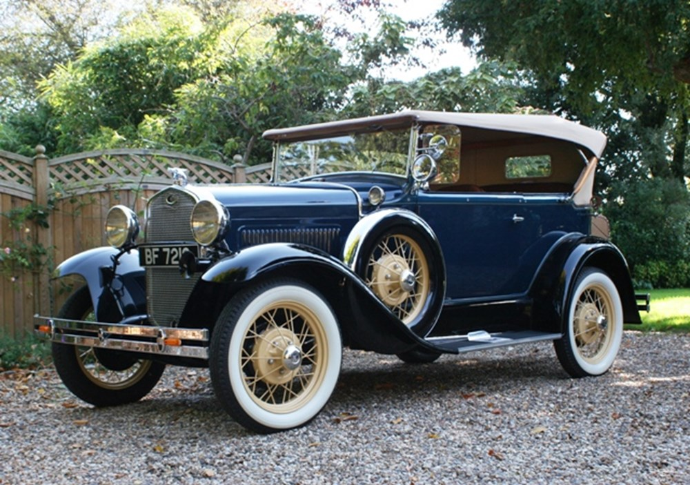 Lot 237 - 1931 Ford Model A Deluxe Phaeton