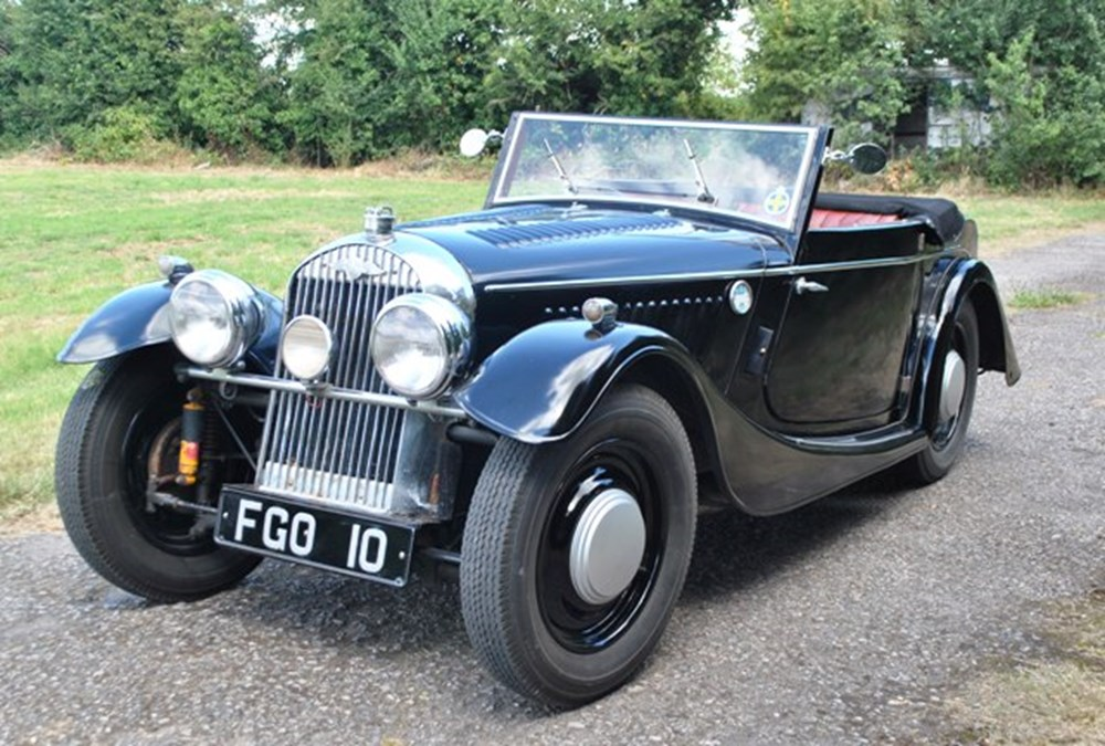 Lot 244 - 1938 Morgan 4-4 Drophead Coupé (Series I)