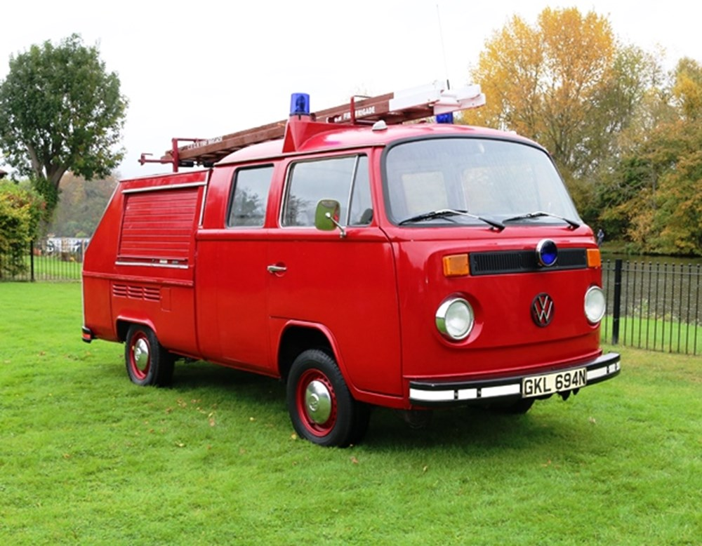 Lot 214 - 1974 Volkswagen Type 2 Double-Cab Fire Engine by Branbridge