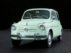 Navigate to Lot 213 - 1960 Fiat 600 D