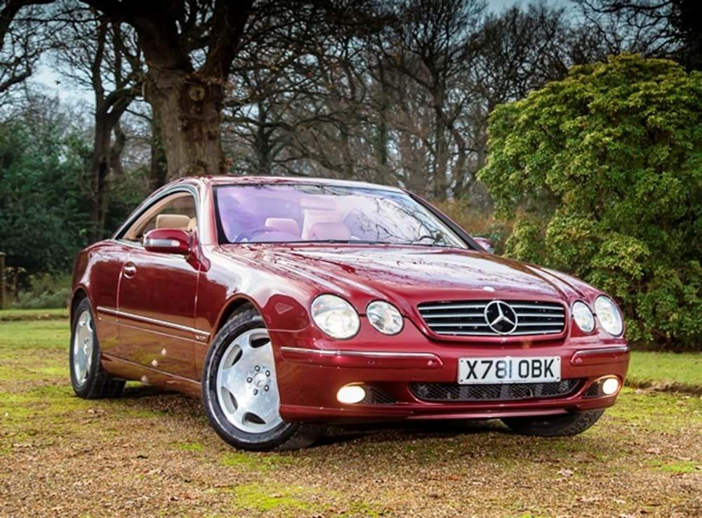 Ref 9 2001 Mercedes Benz Cl600