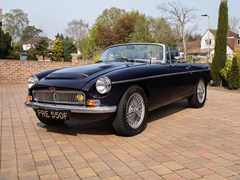 Navigate to Lot 224 - 1968 MG C Roadster