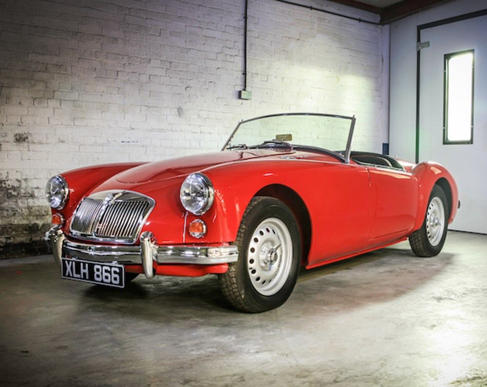 Lot 254 - 1959 MG A Twin Cam Roadster