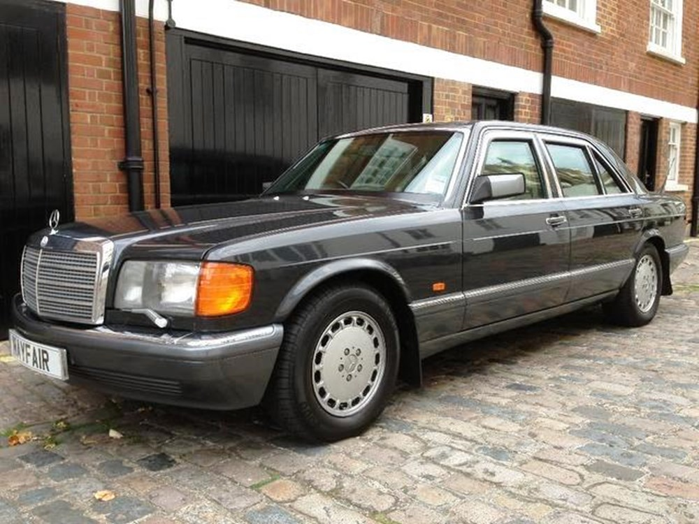 Ref 93 1991 mercedes benz 560 sel armoured for Mercedes benz financial phone number