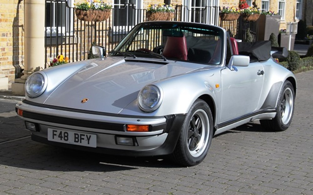 Lot 298 - 1989 Porsche 911 (930) Turbo Cabriolet