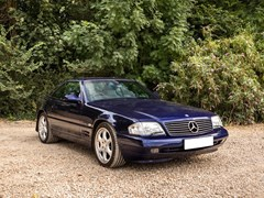 Navigate to Lot 233 - 2000 Mercedes-Benz SL 320 Roadster Designo Edition
