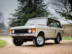 Navigate to Lot 184 - 1976 Range Rover Suffix D 'Two-door'