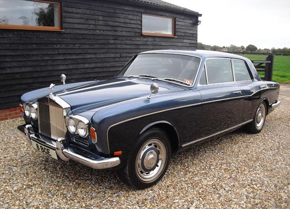 Lot 233 - 1970 Rolls-Royce Silver Shadow Two-Door by Mulliner Park Ward