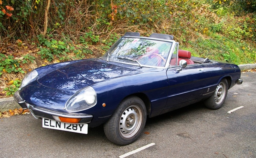 Alfa Romeo Spider Specialist Classic Sports Car Auctioneers