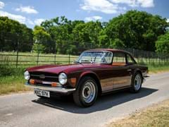 Navigate to Lot 164 - 1970 Triumph TR6 *WITHDRAWN*