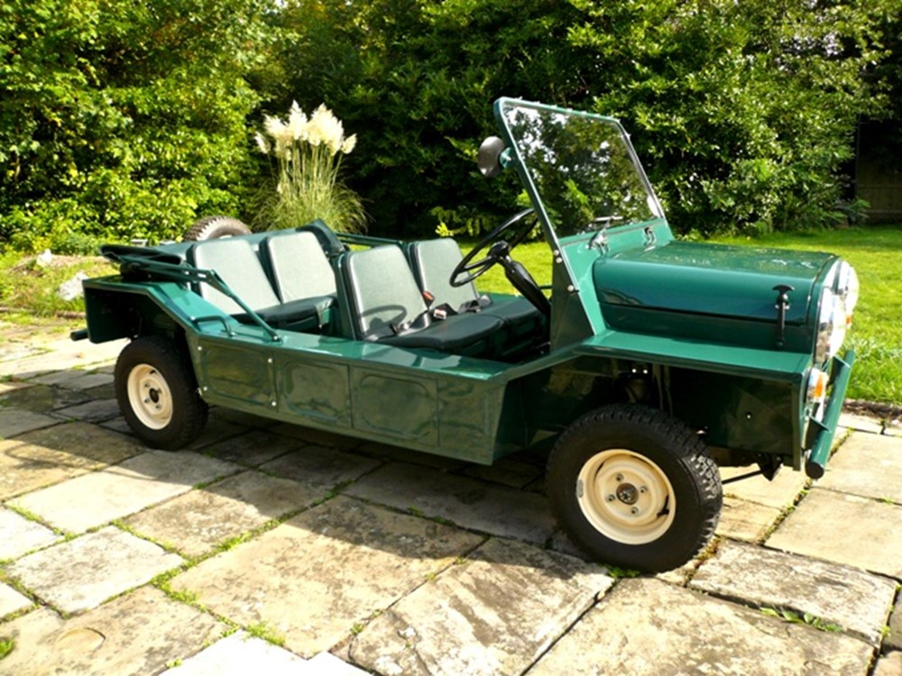 1966 austin mini moke classic sports car auctioneers. Black Bedroom Furniture Sets. Home Design Ideas