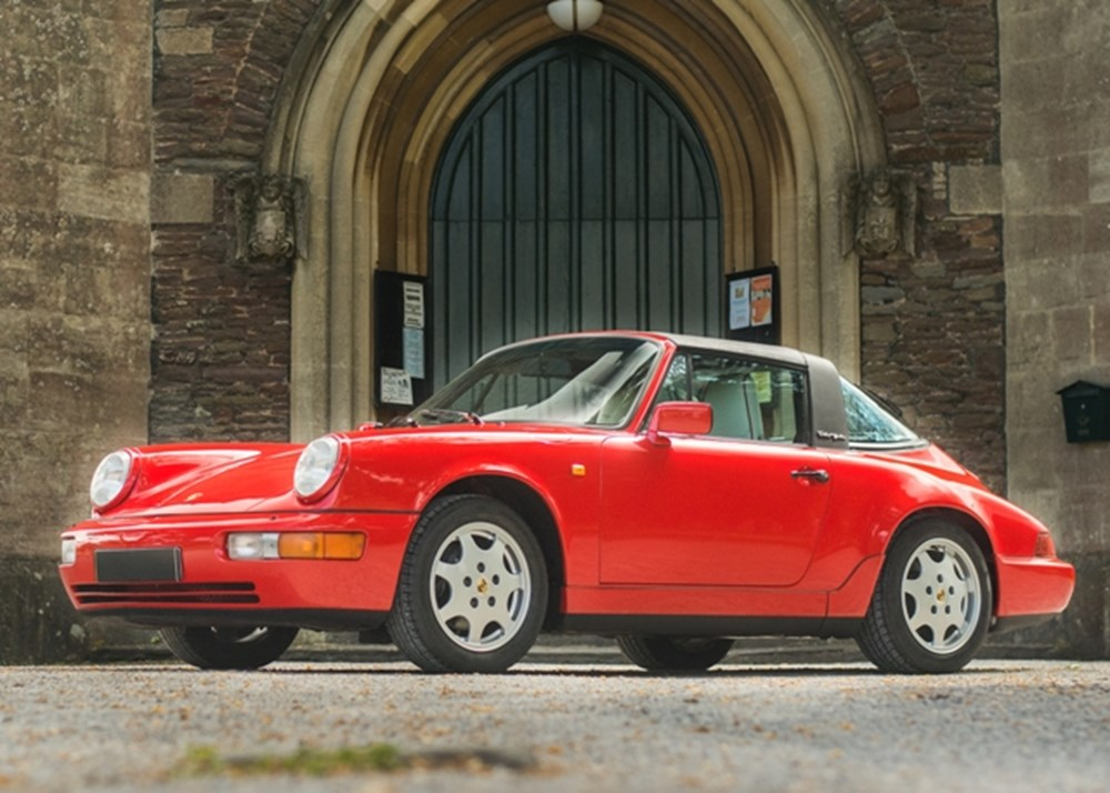 Lot 162 - 1991 Porsche 964 Carrera 2 Targa