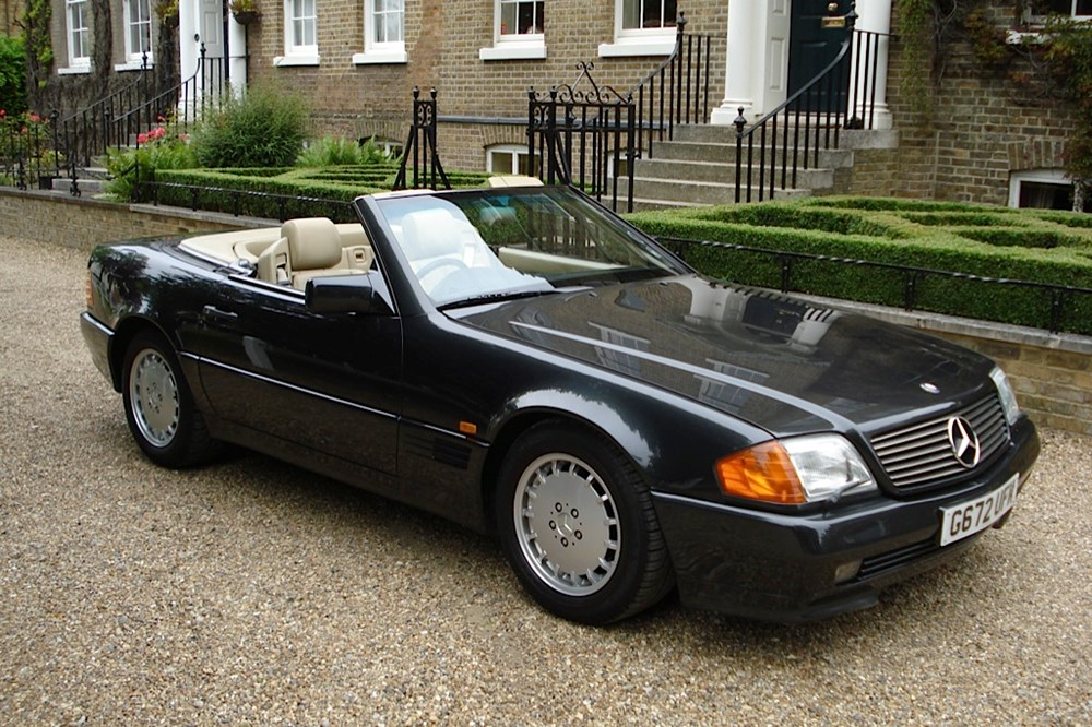 1989 mercedes benz 500sl the press car. Black Bedroom Furniture Sets. Home Design Ideas