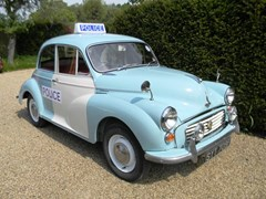Navigate to Lot 412 - 1968 Morris Minor 1000 Police Car