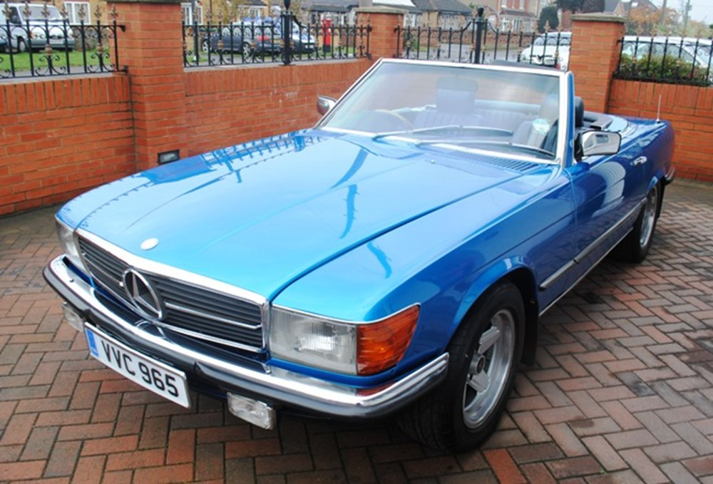 Lot 268 - 1978 Mercedes-Benz 280SL