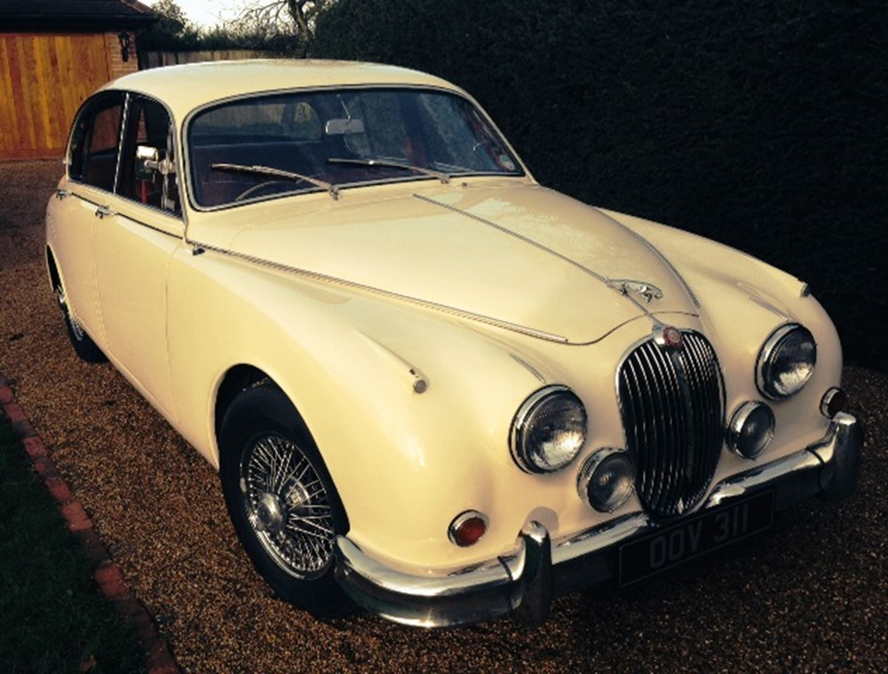 Lot 276a - 1960 Jaguar Mk.II 3.8 Man O/D