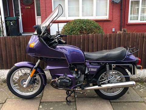 Ref 164 1984 BMW R80 - R100 RT Specification