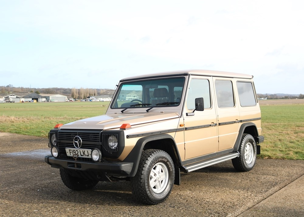 Lot 232 - 1988 Mercedes-Benz 280GE Long Wheelbase