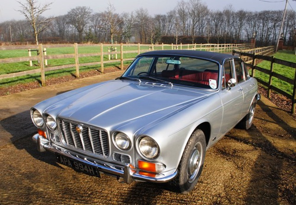Lot 202 - 1969 12947 XJ6, Series I, Saloon