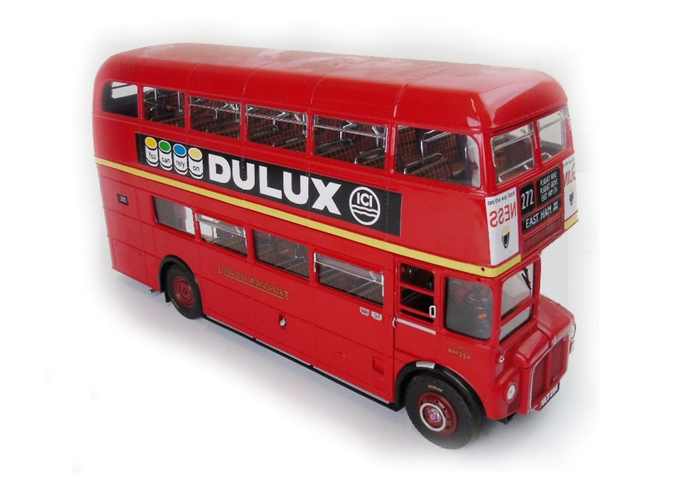 Lot 11 - A Routemaster Bus, die cast metal ...