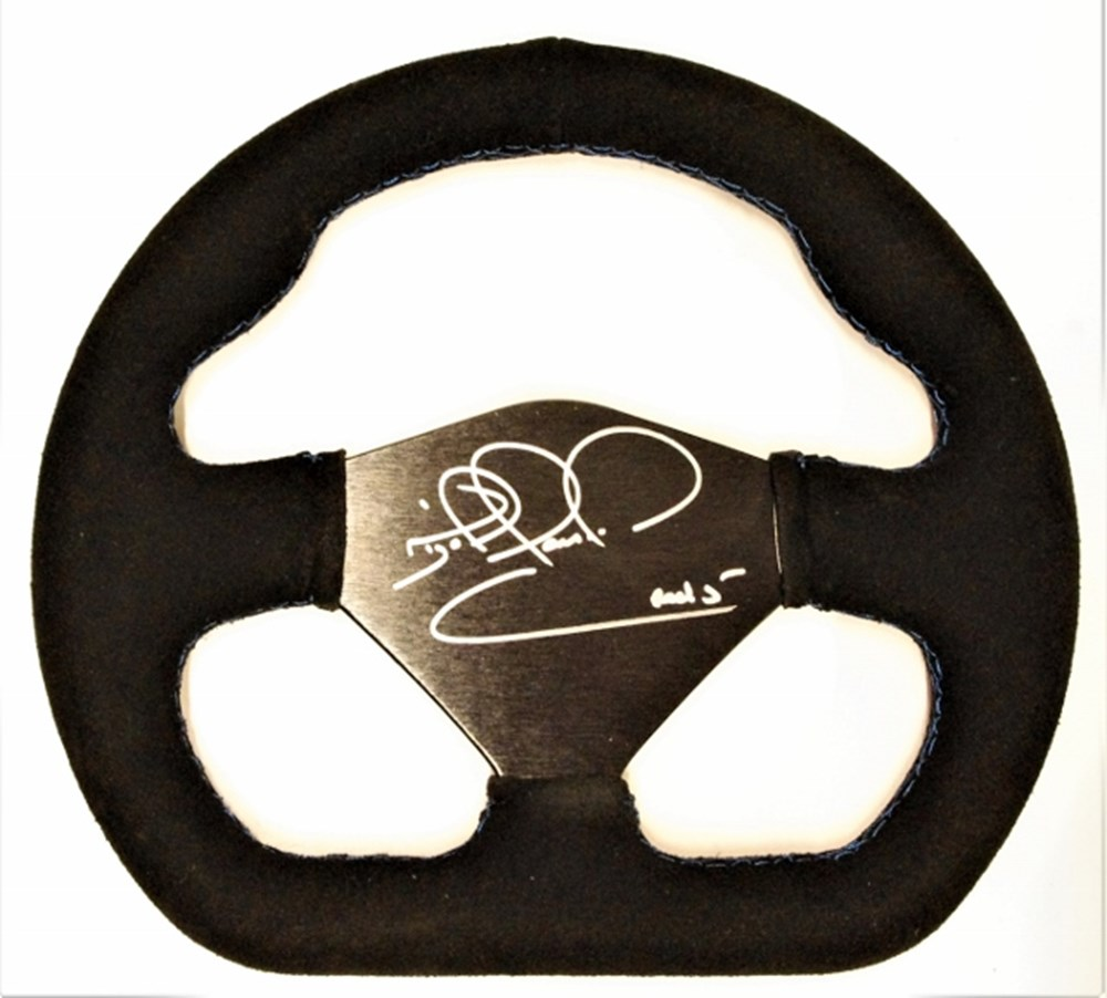 Lot 80. - A presentation steering wheel.