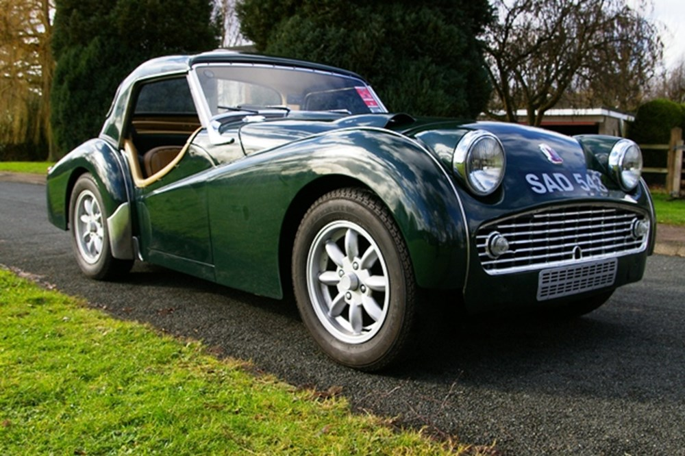 1956 Triumph Tr3 Specialist Classic Sports Car Auctioneers
