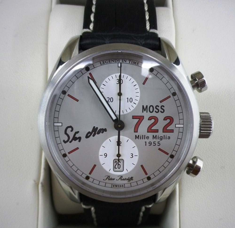 Lot 73 - Stirling Moss 722 chronograph