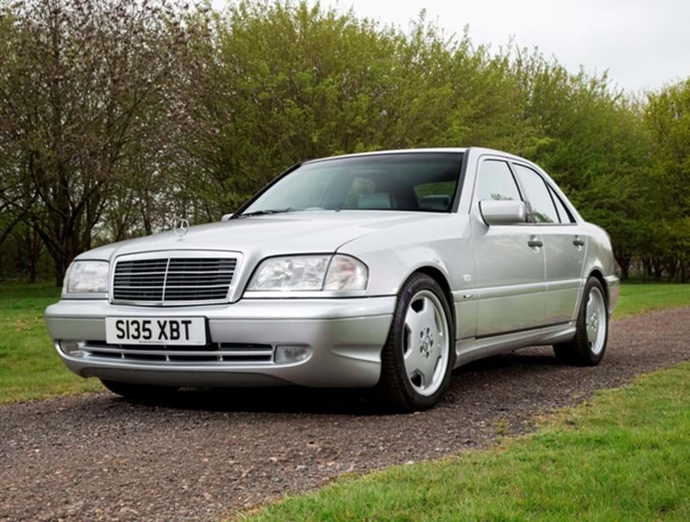 Ref 35 1998 mercedes benz c 43 amg for Mercedes benz financial phone number