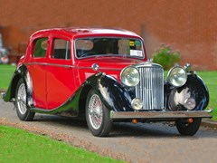 Navigate to Lot 188 - 1946 Jaguar 3 ½ litre Mk. IV Saloon