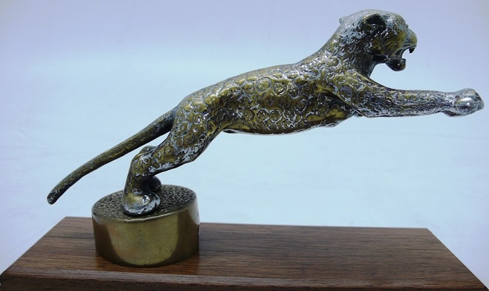 Lot 047 - Jaguar leaping cat mascot