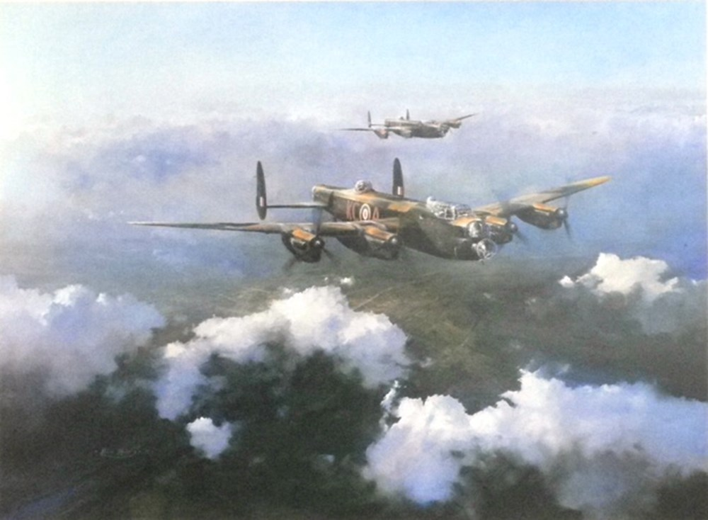 Lot 110 - WW2 Lancaster bombers