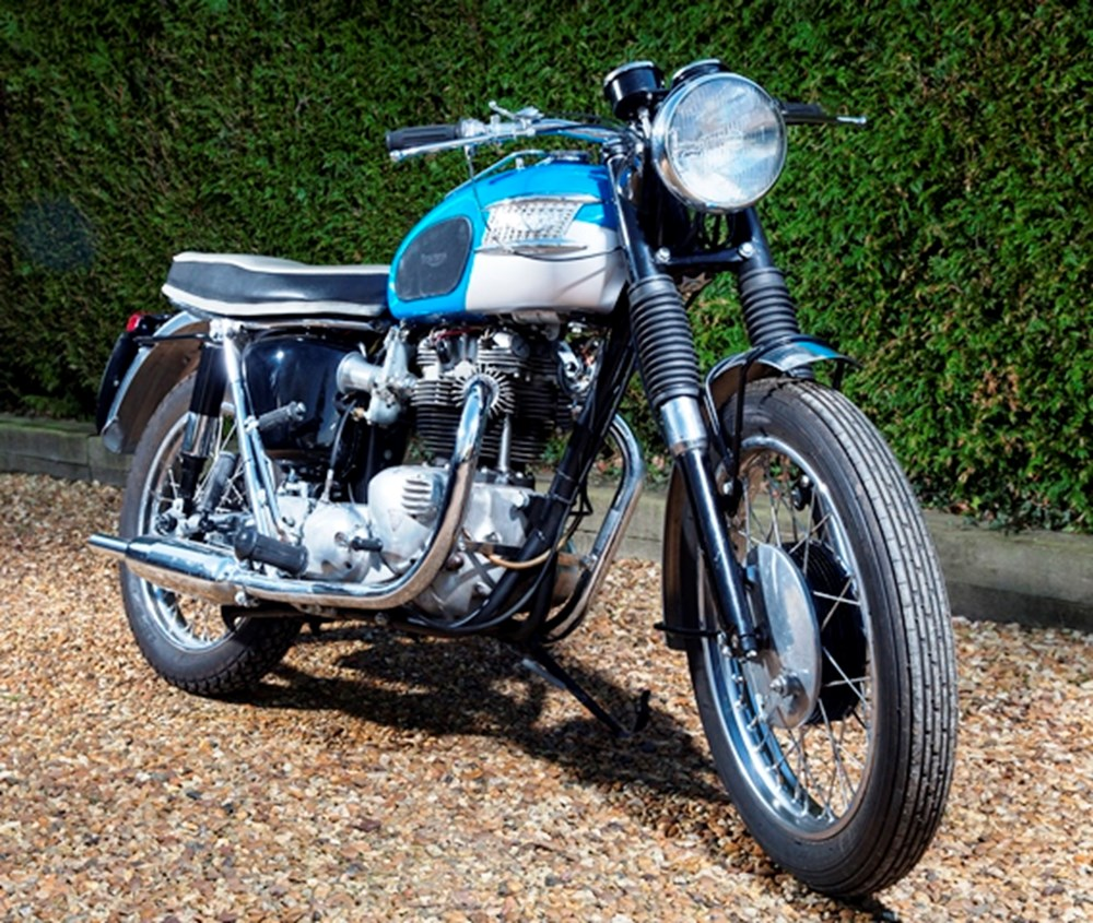 Lot 323 - 1965 Triumph T120 Bonneville