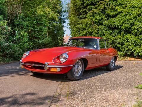Ref 134 1970 Jaguar E-Type Series II Coupé DL