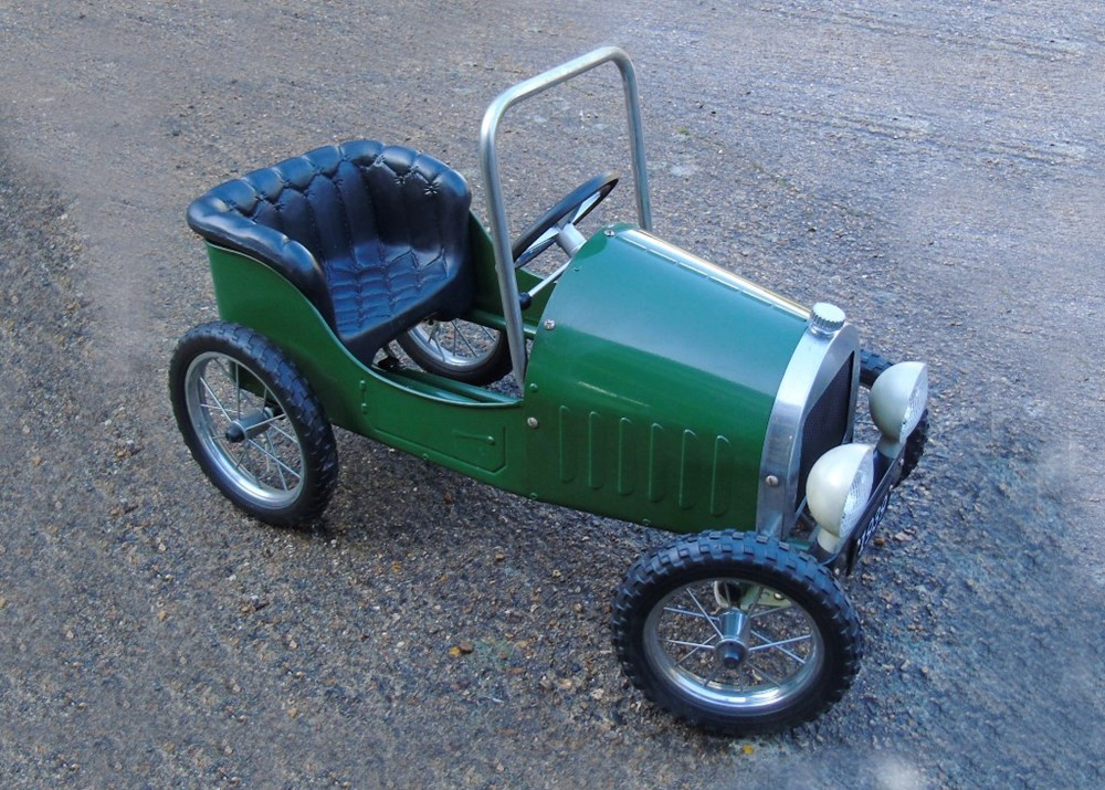 Lot 49 - A green roadster child's pedal car