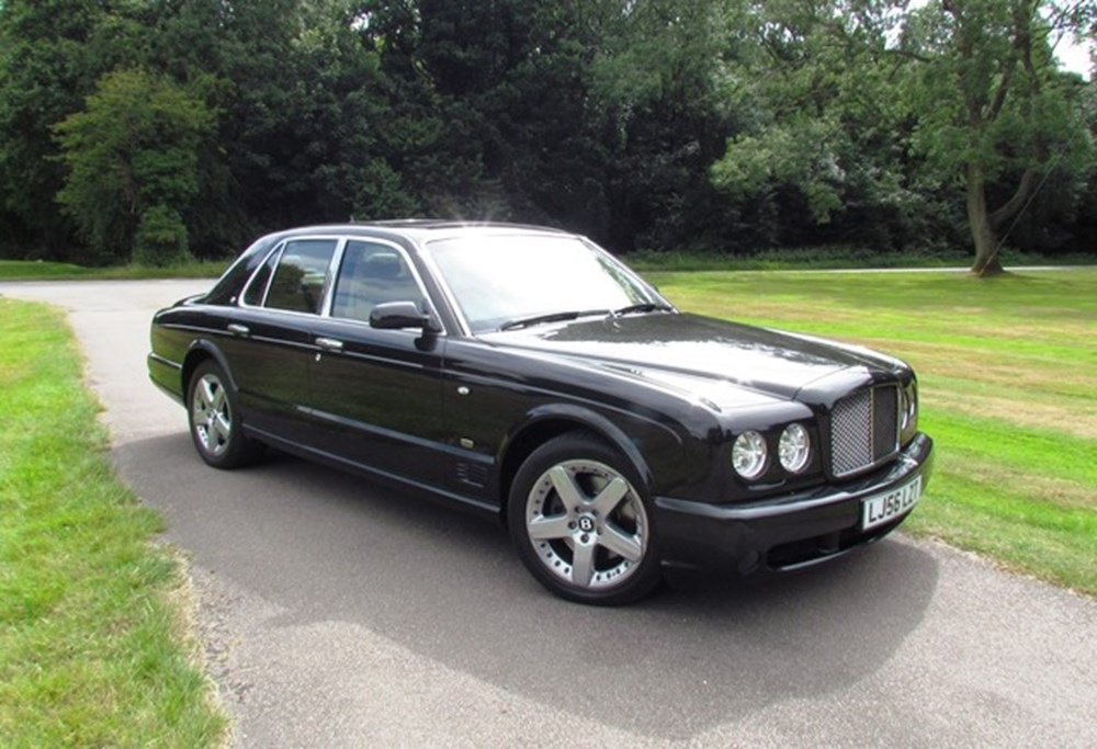 Lot 291 - 2007 Bentley Arnage T Mulliner II *WITHDRAWN*