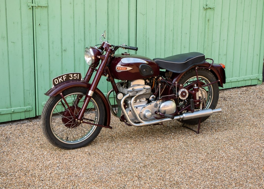 Lot 111 - 1953 Ariel Square Four