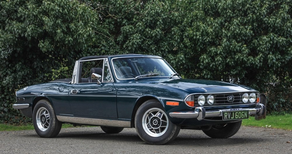 Ref 22 Triumph Stag - Classic & Sports Car Auctioneers