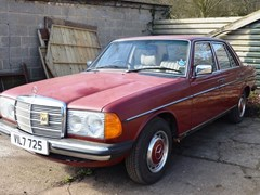 Navigate to Lot 295 - 1979 Mercedes-Benz 230 Saloon