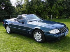 Navigate to Lot 378 - 1998 Mercedes-Benz SL500