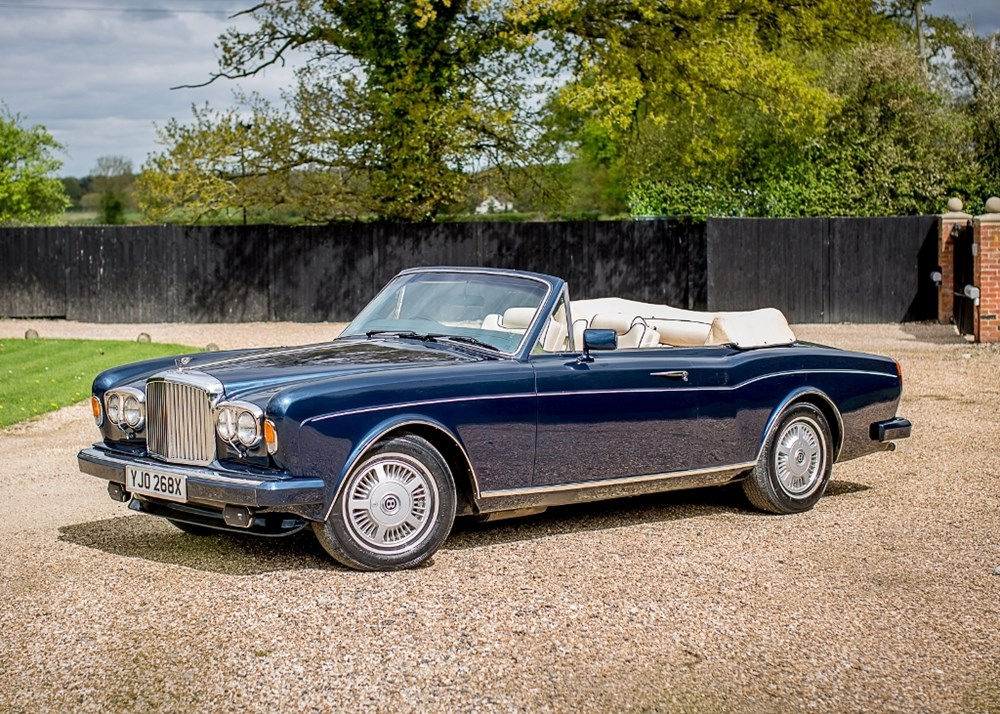 Lot 206 - 1982 Rolls-Royce Corniche Convertible to Bentley Continental Specification